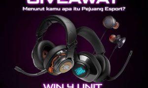 Giveaway Pejuang E-sport JBL Quantum 2020