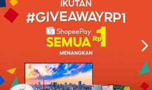 Giveaway ShopeePay Rp1 12.12 Birthday Sale 2020