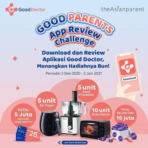 Good Parents App Review Challenge Desember 2020