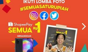 Lomba Foto ShopeePay Semua Satu Rupiah 12.12 Birthday Sale 2020