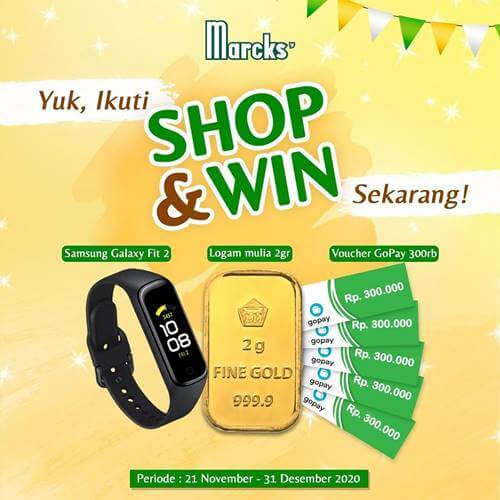 Marcks' Shop & Win 2020