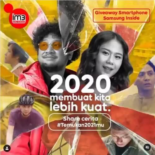 Share Cerita Temukan 2021-mu IM3 Ooredoo 2020