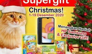 Supergift Christmas Super Cat 2020