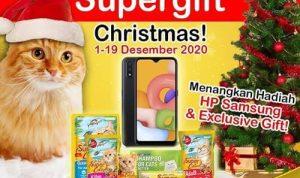 Supergift Christmas Super Cat 2020