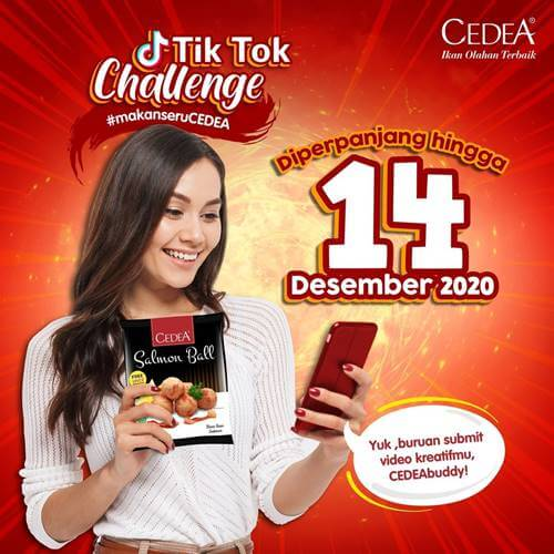 TikTok Challenge Makan Seru Cedea 2020