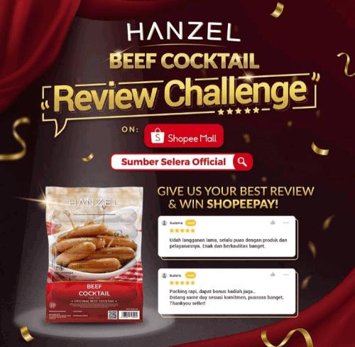 Hanzel Beef Cocktail Challenge