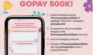 Kuis Cerita Perempuan Berani Mulai Berhadiah Saldo Gopay Total 500K