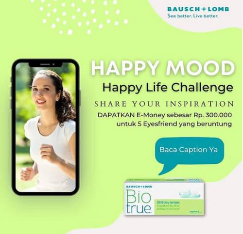 Lomba Foto Happy Mood Berhadiah E-Money 300K Untuk 5 Pemenang
