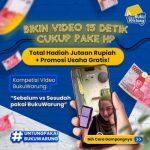 Lomba Video 15 detik BukuWarung Berhadiah Total Jutaan Rupiah