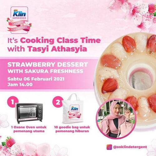 Live Cooking Class Bersama Tasyi Athasyia
