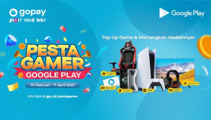 Promo Undian Pesta Gamer Google Play