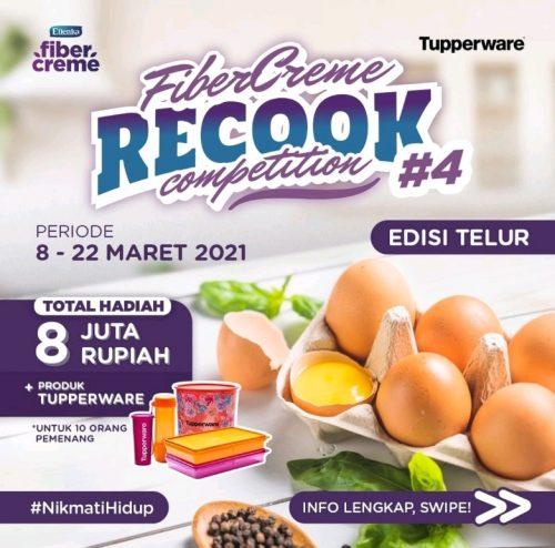 Lomba Recook FiberCremeEdisi Telur Berhadiah Total 8 JUTA Rupiah