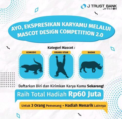 Mascot Design Competition 2.0 Berhadiah Total Rp 60 JUTA