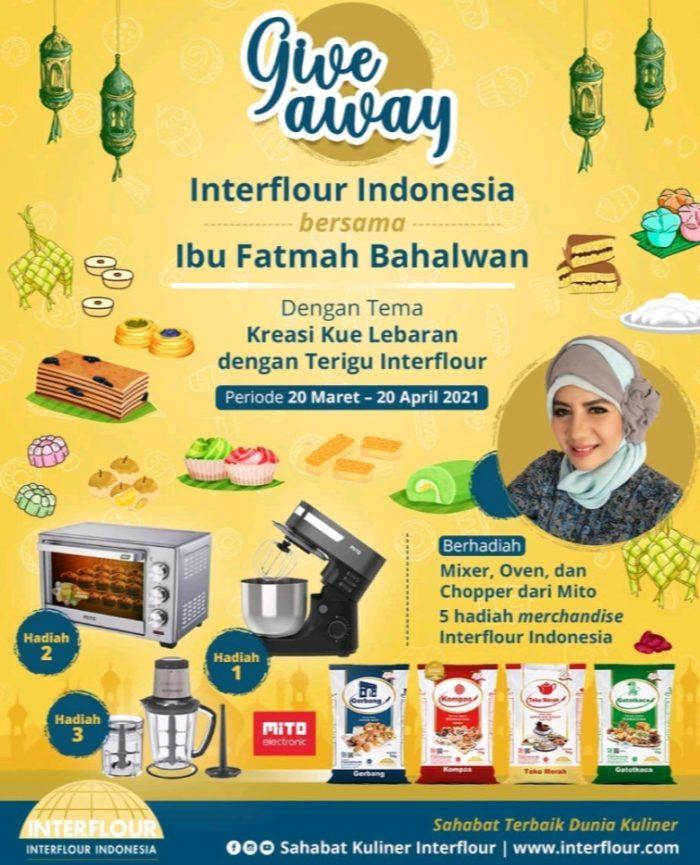 Lomba Kreasi Sahabat Kuliner Interflour Hadiah Mixer, Oven, dll