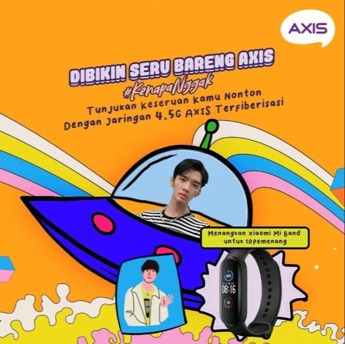 Lomba AXIS Terfiberisasi Challenge Berhadiah 10 unit Xiaomi Mi Band