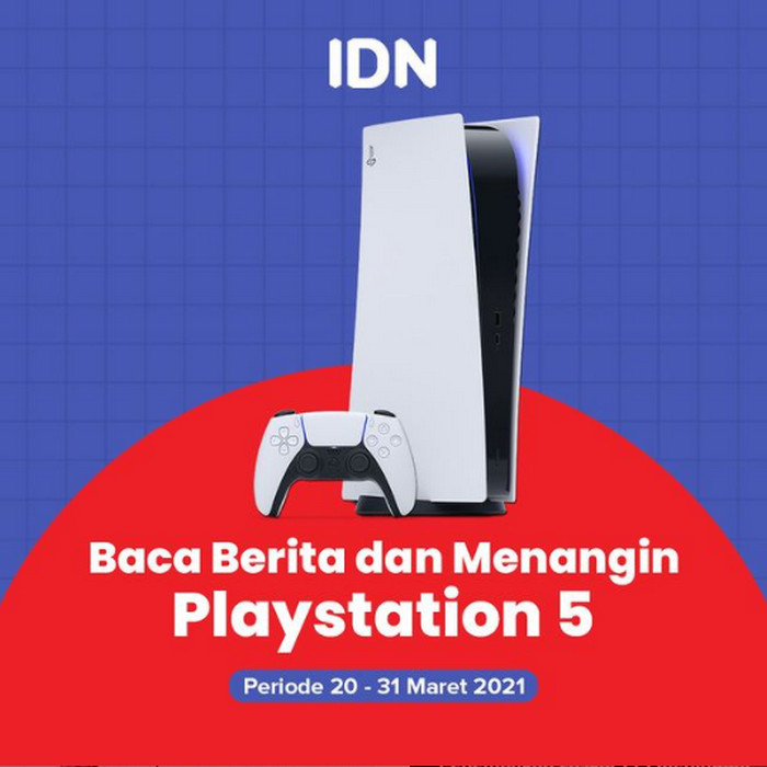Daftarkan Username Instagram-mu, Menangkan SONY Playstation 5