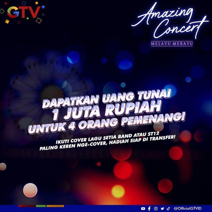 Cover Lagu Setia Band atau ST12 Berhadiah Total Jutaan Rupiah