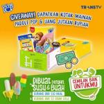 Giveaway Cerita Camilan Baik Berhadiah Uang Total 1 Juta + Kotak Mainan