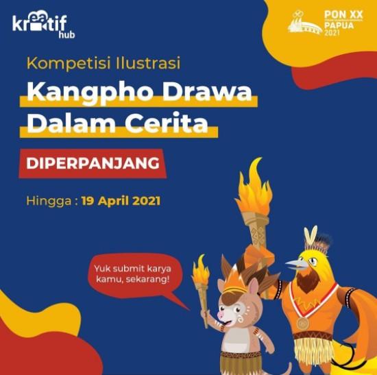 Kompetisi Ilustrasi Kangpho Drawa Hadiah Total Rp 19 JUTA