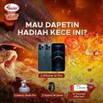 Lomba TikTok Sasa Bon Tabur Berhadiah iPhone 12 pro, Mi Band, dll
