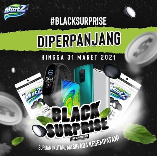 Lomba Video Black Surprise Berhadiah Smartphone, Sport watch, dll
