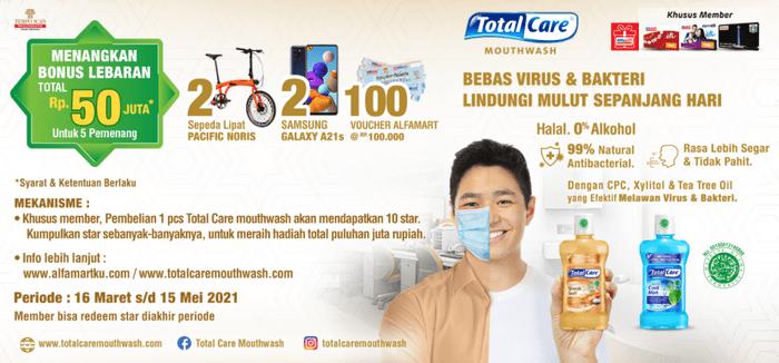 Promo TotalCare Bonus Lebaran Total 50 Juta Untuk 5 Pemenang