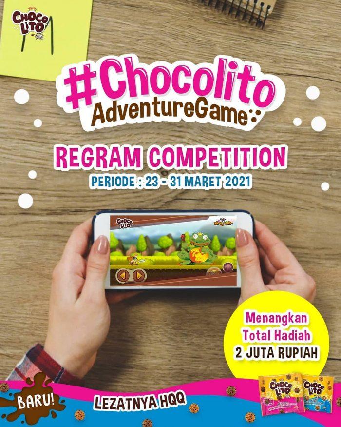 Regram Video Game Chocolito Berhadiah Pulsa Total Rp 2 JUTA