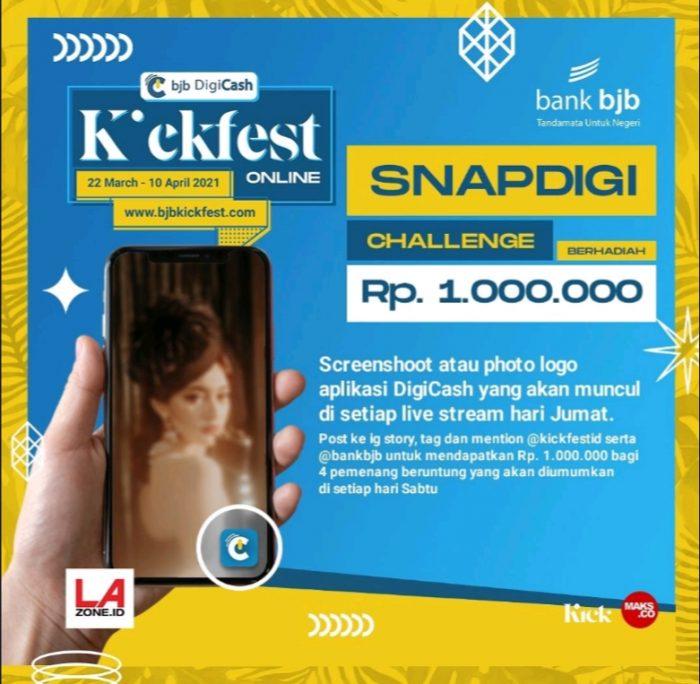 SnapDigi Challenge Berhadiah Senilai Total 1 JUTA Rupiah