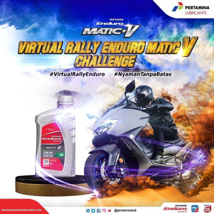 Virtual Rally Enduro Matic V Berhadiah Total Rp 16,75 Juta Rupiah