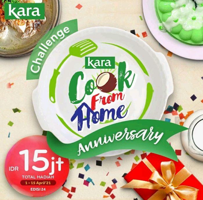 Kara Cook From Home Edisi 24 Berhadiah Total 15 JUTA Rupiah
