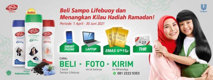 Promo Lifebuoy Kilau Hadiah Ramadan Berhadiah Emas, Laptop, dll