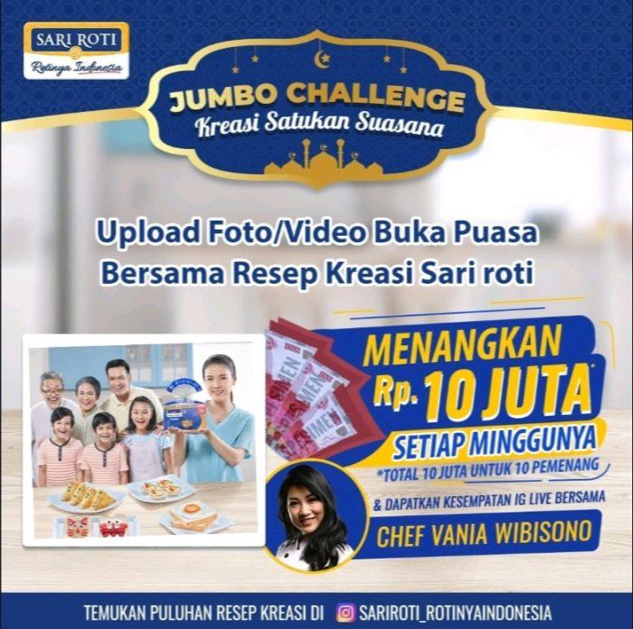 Kompetisi Jumbo Challenge Berhadiah Total 10 JUTA Rupiah