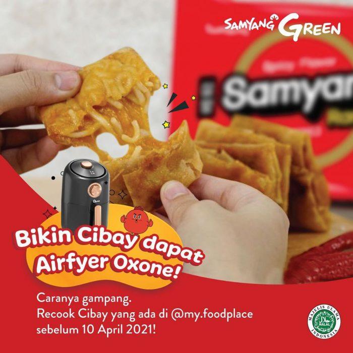 Kontes Kreasi Cibay Berhadiah Produk Air Fryer Oxone