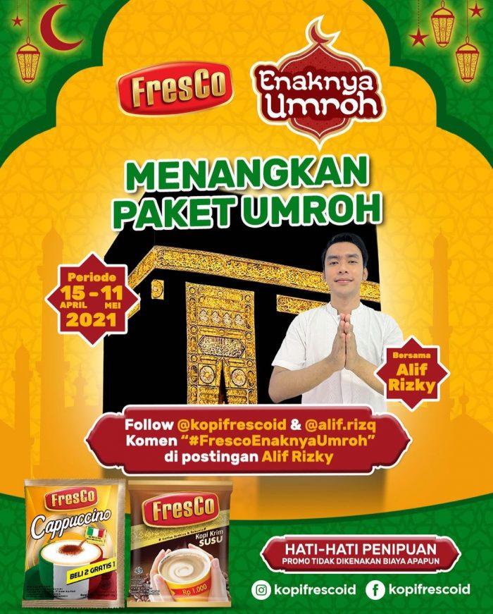 Kuis Fresco Enaknya Umroh Hadiah Paket Umroh & Merchandise