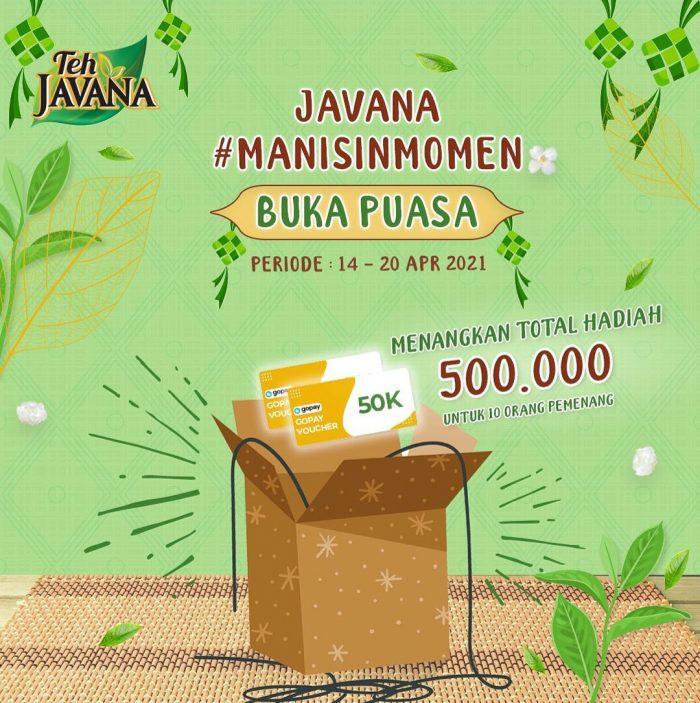 Giveaway Manisin Buka Teh Javana Berhadiah Gopay 500 RIBU