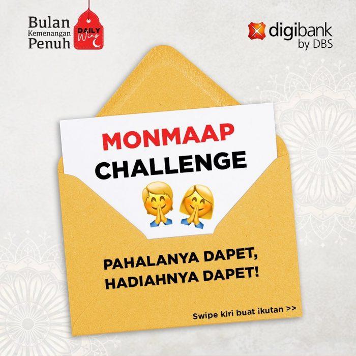 Kuis Monmaap Challenge Berhadiah Gopay Total Rp 1,5 JUTA