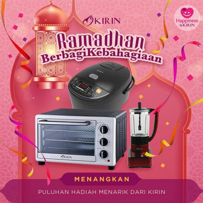 Kuis Ramadhan Berbagai Kebahagiaan Hadiah Oven, Rice Cooker, dll
