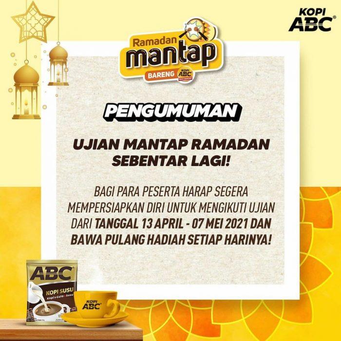Kuis Ujian Mantap Ramadan Berhadiah OVO Total Ratusan RIBU