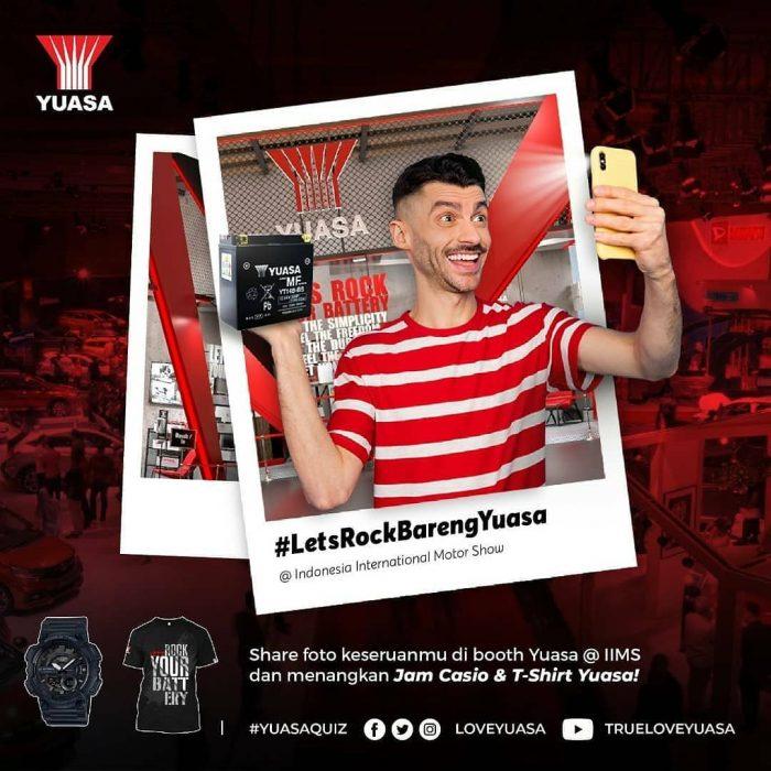 Lomba Foto Lets Rock Bareng Yuasa Hadiah Jam Casio & 40 T-Shirt