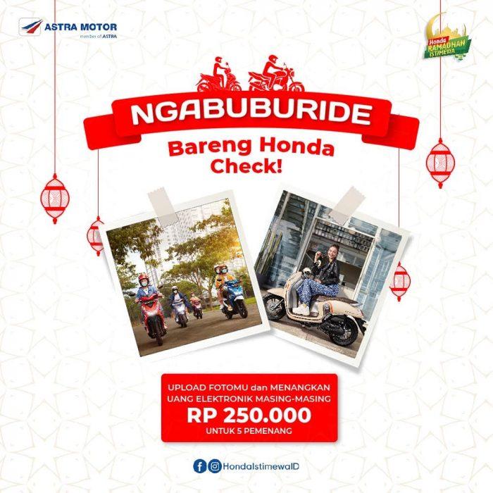 Lomba Foto Ngabuburit Bareng Honda Berhadiah Saldo Jutaan Rupiah