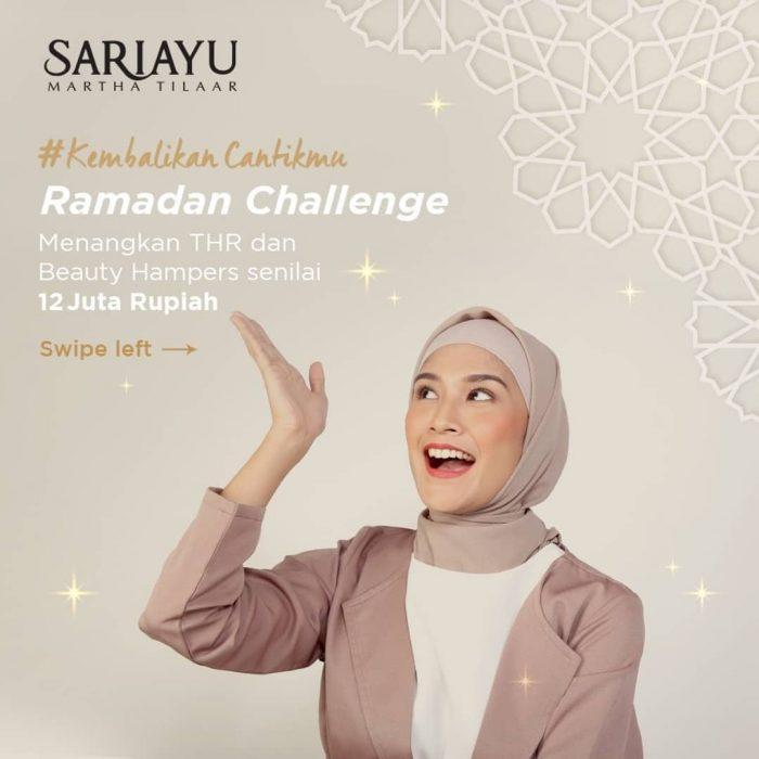 Lomba Foto Sariayu Ramadan Challenge Hadiah Total Rp 12 JUTA