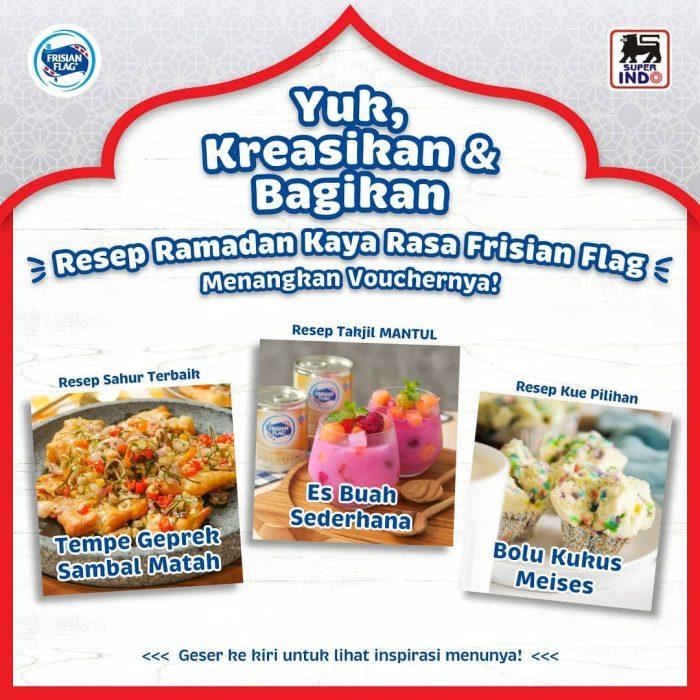 Lomba Resep Ramadan Kaya Rasa Hadiah Total Rp 7,5 JUTA