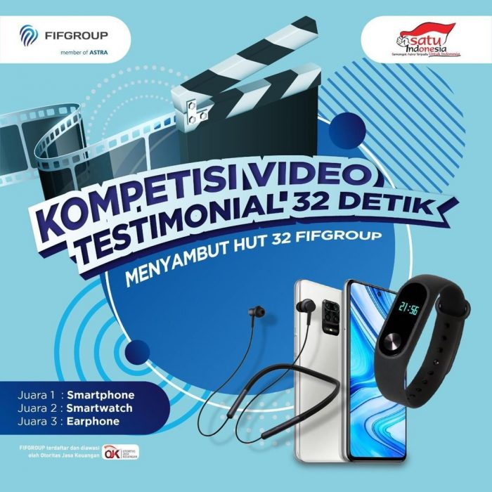 Lomba Testimoni 32 Detik FIFGROUP Hadiah HP, Smartwatch, dll