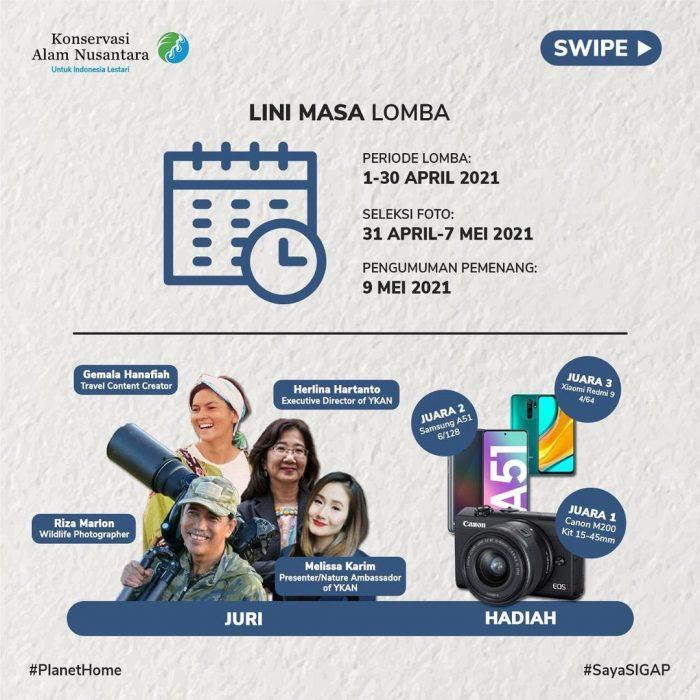 Lomba Foto Untuk Indonesia Lestari Berhadiah Kamera, HP, dll