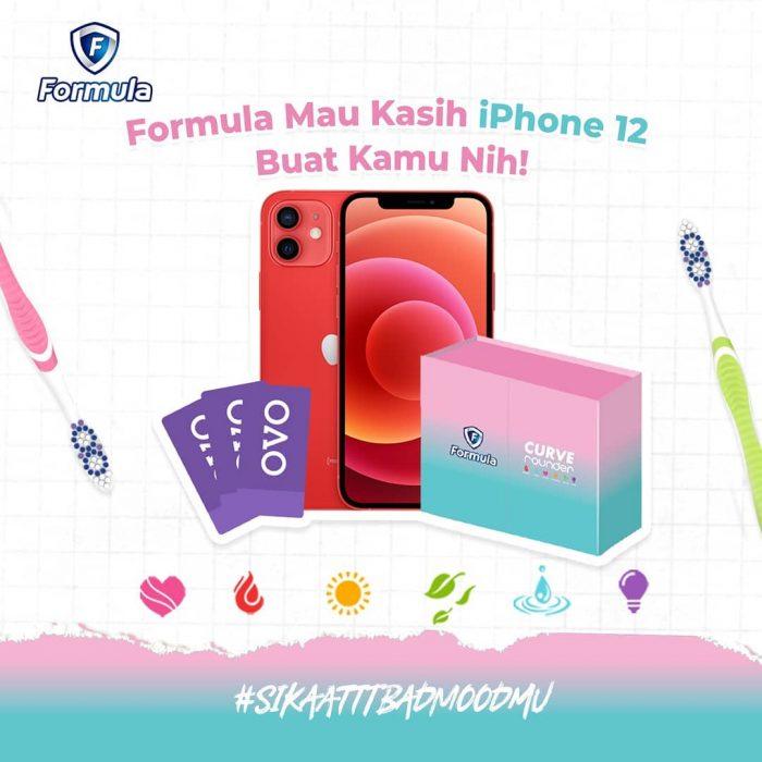 Lomba Video Sikat Bad MoodMu Berhadiah iPhone 12, OVO, dll