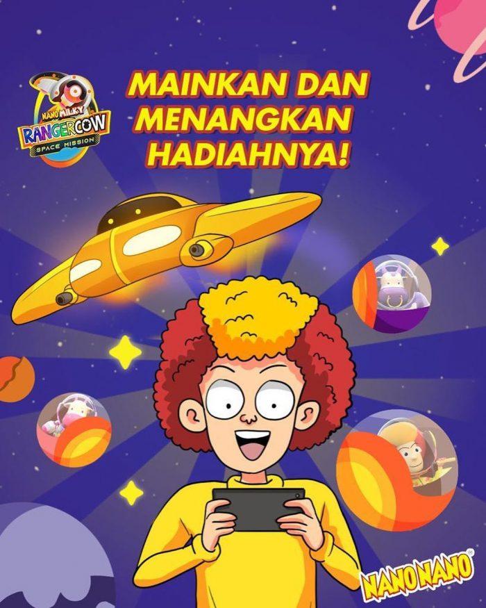 Main Game Nano Milky Top Scorer Berhadiah Total Jutaan Rupiah