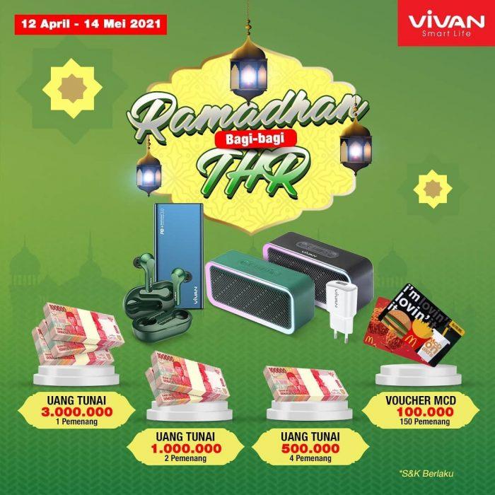 Promo Undian Review Produk Vivan Berhadiah THR Total Jutaan Rupiah