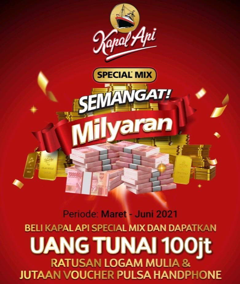 Undian Kapal Api Special Mix Berhadiah Milyaran Rupiah