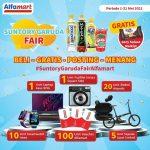 Foto Dengan Produk Suntory Garuda Berhadiah Laptop ASUS ROG