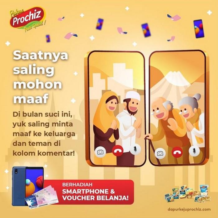 Giveaway Saling Mohon Maaf Berhadiah Smartphone dari Prochiz